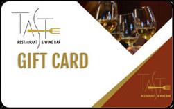 Taste Restaurant Gift Card